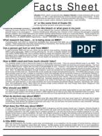 Mms Facts Sheet