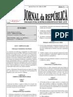(2009-07-08) lei 3-2009 (lideranças comunitárias e sua eleição)