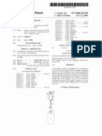 Nail polish container and applicator cap (US patent 6966716)
