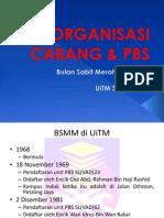 Organisasi BSMM cabang UiTM Shah Alam