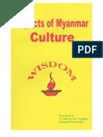 Myanmar Culture By Tin Mg Oo