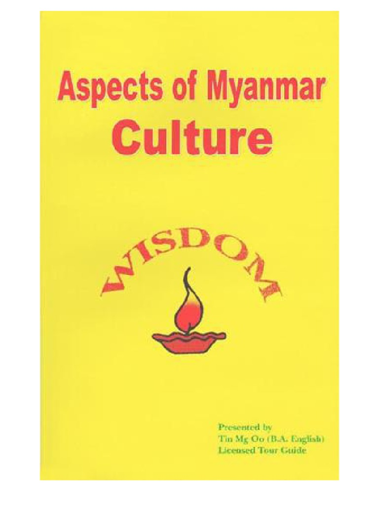 Myanmar Culture By Tin Mg Oo | Religion And Belief