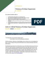 unit 2 ideal city activities