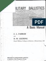 Military Ballistics