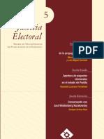 Justicia Electoral Cuarta Epoca No 5 2010