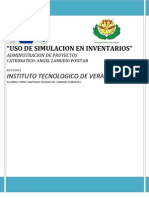 Uso de Simulacion en Inventarios