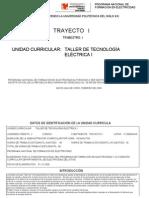 taller de tecnología eléctrica I