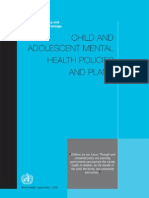 Child And Adolescent Mental health Polices and Plans - WHO.pdf
