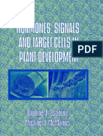 Hormones Signals and Target Cells in Plant Development
