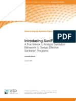 Introducing SaniFOAM a framework to analyze behaviors to design effective sanitation programs
