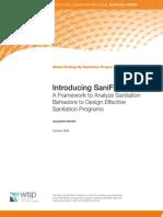 Introducing SaniFOAM a framework to analyze behaviors to design effective sanitation programs