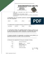 Cuestionario BIOS