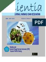 Jurnal Scientia Vol.2 No.1 Februri 2012