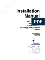 Self Supporting Lattice Tower Installation Manual