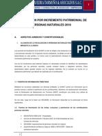 FISCALIZACIÓN POR INCREMENTO PATRIMONIAL DE PERSONAS NATURALES