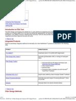 FDA tool IN matlab