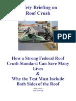 roof crush