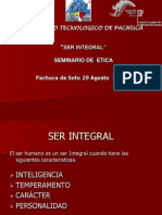 Ser Integral T.etica