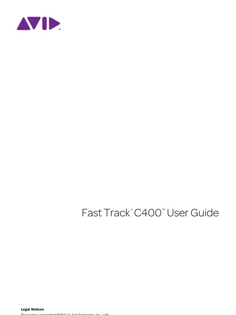 fast track c400 user guide microphone electrical connector rh scribd com Fast Track C400 Driver Windows Fast Track C400 Manual