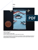 Method for doing miniature tapestry