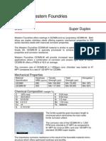 Material Datasheet