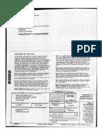 2012 Green Tree Servicing 1099-A Tax Form