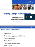 Guidelines for Piping design
