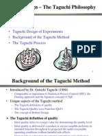 taguchi approach