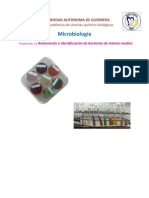 Practica 12 Aislamiento e Identificacion de Bacterias de Interes Medico