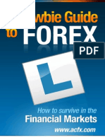 A Newbie Guide to FOREX