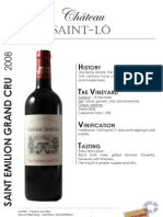 Chateau Saint Lo 2008