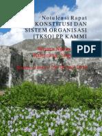 Rapat TKSO (Tim Konstitusi dan Sistem Organisasi) PP KAMMI