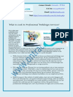 What to Look In Professional Webdesign Services