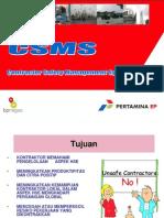 CSMS pertamina