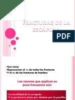 FRACTURAS DE ESCÁPULA