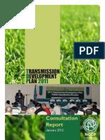 Consultation Report