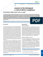 Silicon Biological Activity