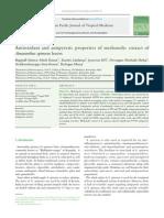 4) Antioxidant and Antipyretic Properties of Methanolic Extract of Amaranthus Spinosus Leaves