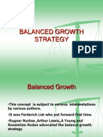 balanced growth strategy