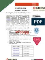 Toner para impresora Kyocera FS-C5300DN