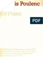 (SCORE) Poulenc - Suite Pour Piano
