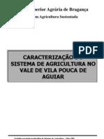 caracterização do Sistema de agricultura no vale de Vila Pouca de Aguiar