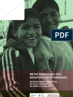 Siteal_informe2010_tendencias Sociales y Educativas en Al. Metas Educativas 2021 Desafios y Oportunidades