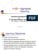 Agrregate Planning