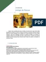 Lectio Divina Pascual
