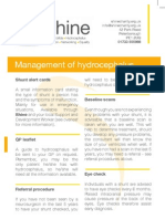 Management of hydrocephalus