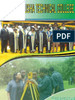 ARUSHA TECHNICAL COLLEGE - PROSPECTUS 2012/2013