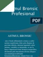Astmul Bronsic Profesional