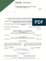 Certificado AENOR Eurofutur