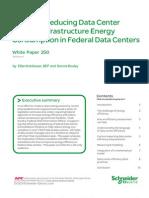 Reducing Datacenter Consumption